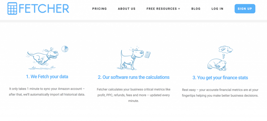 Fetcher Amazon Accounting Software Review