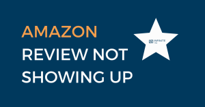 amazon review not showing up